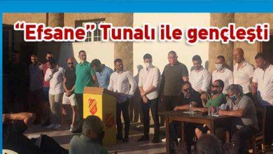 Photo of Çetinkaya'da Genel Kurul gerçekleşti. Yeni Başkan Ceran Tunalı