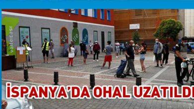 Photo of İspanya'da Covid-19 nedeniyle uygulanan OHAL 21 Haziran'a kadar uzatıldı