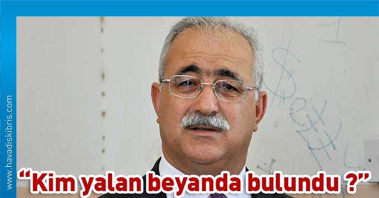 Birleşik Kıbrıs Partisi Genel Başkanı İzzet İzcan, UBP-HP hükümetine, ülkeye özel izin ve karantinasız giren yolcular hakkında, kamuoyuna gerçek açıklama yapma çağrısında bulundu