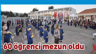 Photo of Şht. Mehmet Eray İlkokulu'nda mezuniyet heyecanı