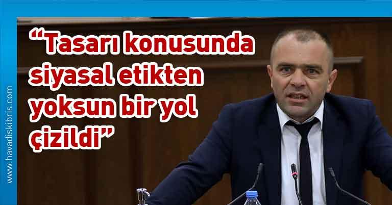 CTP Milletvekili Salah Şahiner