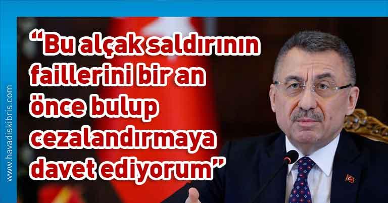 Türkiye Cumhurbaşkanı Yardımcısı Fuat Oktay