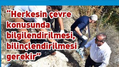 Photo of Ataoğlu: Doğayı kirleten ve ekolojik dengeyi bozan başlıca etken insan