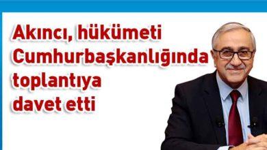 Photo of Cumhurbaşkanı Akıncı, geçiş kapılarını görüşmek amacıyla hükümeti cuma günü toplantıya davet etti