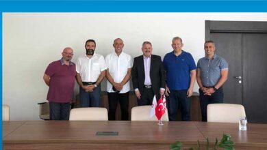 Photo of Ahmet Sütcü ziyaretlerine devam ediyor