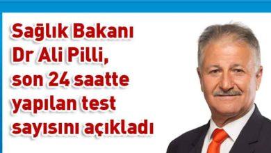 Photo of Pilli: Toplam 238 test yapıldı, pozitif vaka yok