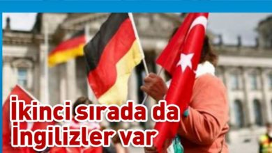 Photo of 2019 yılında 16 bin 200 Türk Alman vatandaşı oldu