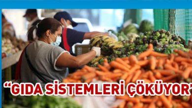 """Photo of BM'den """"gıda sistemleri pandemi nedeniyle çöküyor"""" uyarısı"""