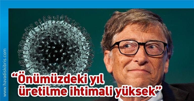 ABD'li iş insanı Bill Gates Arap medyasına corona virüs salgını hakkında konuştu. Gates önümüzdeki yıl içinde aşının üretilme ihtimalinin oldukça yüksek olduğunu söyledi