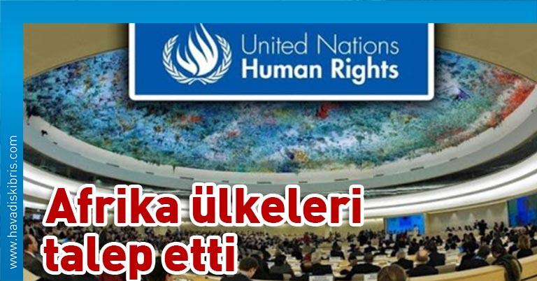 Birleşmiş Milletler (BM) İnsan Hakları Konseyi (İHK), Afrika ülkelerinden gelen talep üzerine ABD'deki ırkçılık ve polis şiddetini acilen görüşme kararı aldı
