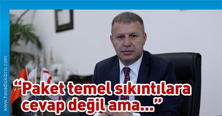 Kıbrıs Türk Sanayi Odası Başkanı Candan Avunduk, II. Ekonomik Tedbir Paketi'nin reel sektörü daha kucaklayıcı olduğunu söyledi