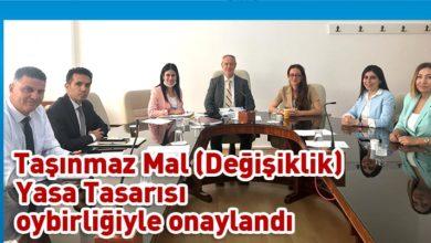 Photo of Cumhuriyet Meclisi, Hukuk, Siyasi İşler ve Dışilişkiler Komitesi toplandı