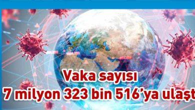 Photo of Dünya genelinde Kovid-19'dan ölenlerin sayısı 413 bini aştı