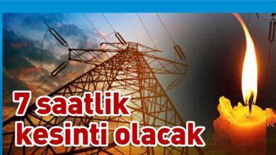 Photo of Dikkat ! Elektrik kesintisi