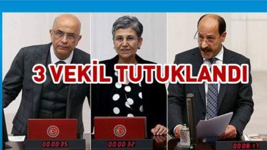 Photo of CHP'li Enis Berberoğlu, HDP'li Leyla Güven ve Musa Farisoğulları tutuklandı