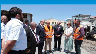 Photo of Başbakan Tatar, Gazimağusa Sanayi Bölgesinde incelemelerde bulundu