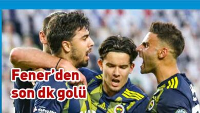 Photo of Ozan Tufan Fenerbahçe'ye hayat verdi