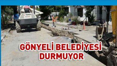Photo of Gönyeli'de bir sokak ve çevresi daha kanalizasyona bağlanıyor