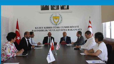 Photo of Gönyeli Belediyesi'ne fiberoptik altyapısı için ihaleye çıkma yetkisi veren protokol imzalandı