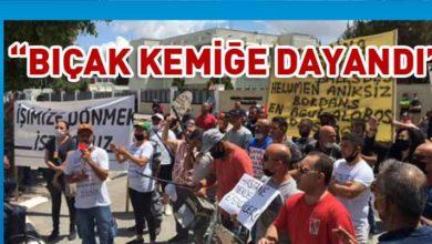 Photo of İşçilerin Meclis önünde eylemi olaysız devam ediyor