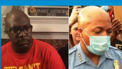 Photo of Floyd'un alesinden canlı yayında polis müdürüne soru
