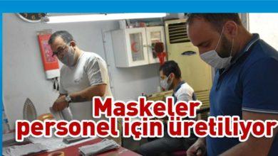 Photo of Girne Belediyesi kendi maskesini üretiyor