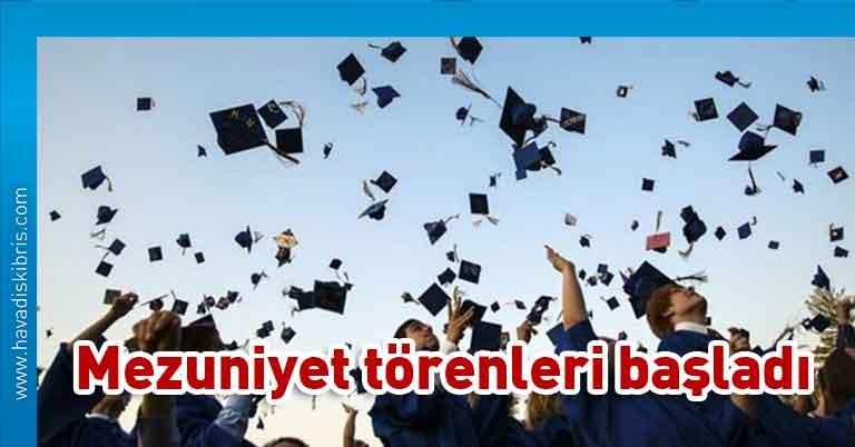 lise son sınıfların mezuniyet törenleri