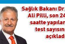 Photo of Pilli: Toplam 541  test yapıldı, pozitif vaka yok