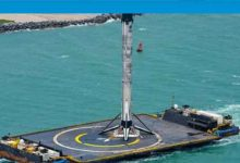 Photo of SpaceX'in roketi karaya ulaştı