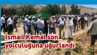 Photo of İsmail Kemal'e veda