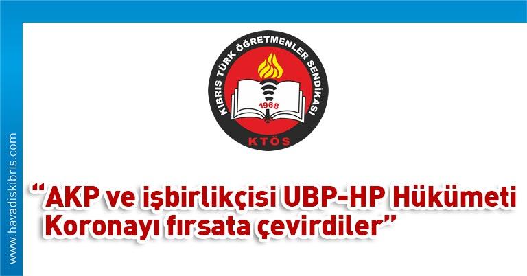 """Kıbrıs Türk Öğretmenler Sendikası Genel Sekreteri Şener Elcil, yaptığı yazılı basın açıklamasında, """"""""Mavi Vatan"""" doktrini çerçevesinde AKP Hükümeti ve"""