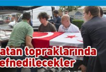 Photo of Kıbrıslı Türklerin cenazeleri yurda getiriliyor