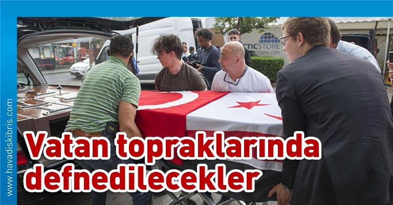 Koronavirüs salgını sırasında Britanya'da hayatını kaybeden on sekiz Kıbrıslı Türk'ün, Kuzey Kıbrıs Türk Cumhuriyeti'ne (KKTC) son yolculukları başladı.