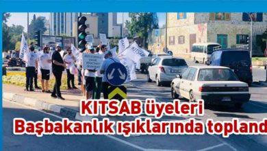 Photo of KITSAB Başbakanlık önünde eylem yapıyor