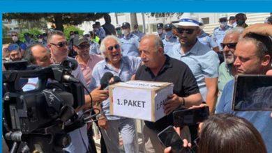 Photo of KAR-İŞ Meclis önünde araçlı eylemde