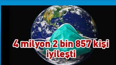 Photo of Dünya genelinde Covid-19'dan iyileşenlerin sayısı 4 milyonu geçti
