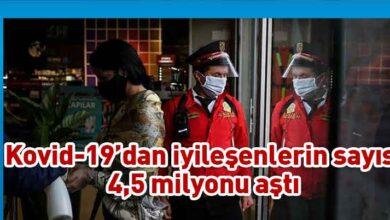 Photo of Dünya genelinde Kovid-19'dan iyileşenlerin sayısı 4,5 milyonu geçti