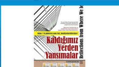 """Photo of LAÜ Mimarlık Fakültesinden """"Kaldığımız Yerden  Yansımalar"""" Sergisi"""