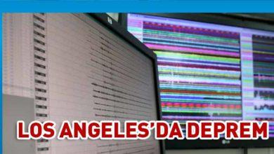 Photo of Los Angeles'da 5,5 büyüklüğünde deprem