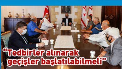 Photo of Akıncı, Akıncılar Belediye Başkanı ve beraberindeki heyeti kabul etti