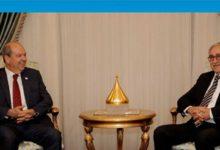Photo of Cumhurbaşkanı Akıncı 14.00'te Başbakan Tatar'ı kabul ediyor
