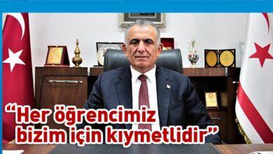 Photo of Çavuşoğlu, Kolej Giriş Sınavı nedeniyle mesaj yayımladı