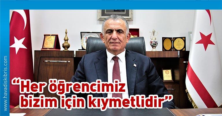Milli Eğitim ve Kültür Bakanı Nazım Çavuşoğlu, yayımladığı mesajda Kolej Giriş Sınavı'na girecek olan öğrencilere başarılar diledi, sınavın bir sıralama sınavı olduğunun unutulmaması gerektiğinin altını çizdi