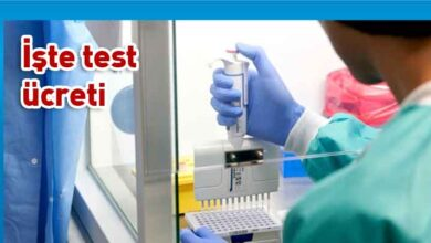 Photo of Türkiye'de PCR testi ücretleri belli oldu