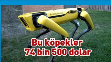 Photo of Boston Dynamics'in robot köpeği satışa çıkıyor!