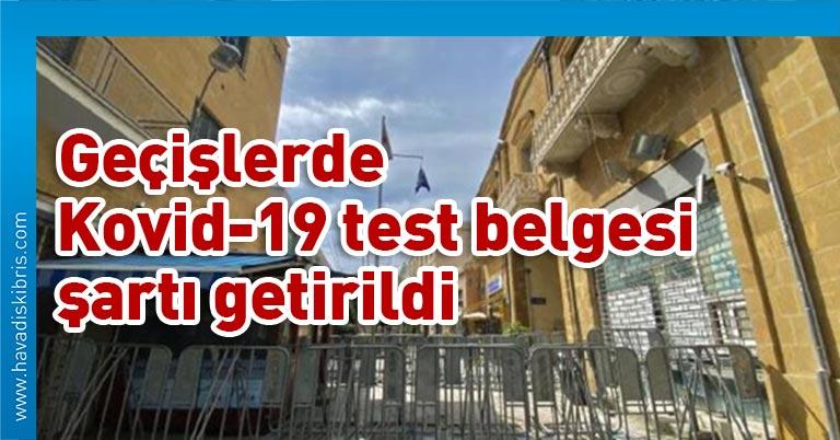 Rum İçişleri Bakanlığı bu temelde geçerli olacak kriterleri de açıkladı Sınır kapılarından ilk geçişte kişilerden, en geç 72 saat öncesi yapılmış Kovid-19 testinin negatif olduğunu beyan etmesi istenecek