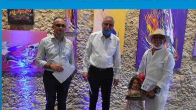 """Photo of """"Sanatta Pandemi'' isimli sergi Girne'de açıldı"""