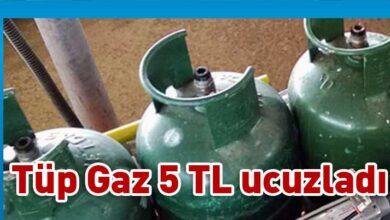 Photo of Tüp gaz fiyatında 5 TL indirim