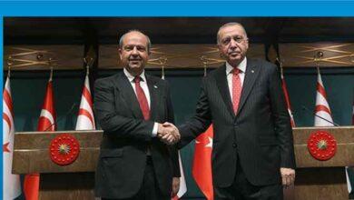 Photo of Başbakan Tatar, Türkiye Cumhurbaşkanı Erdoğan ile görüştü