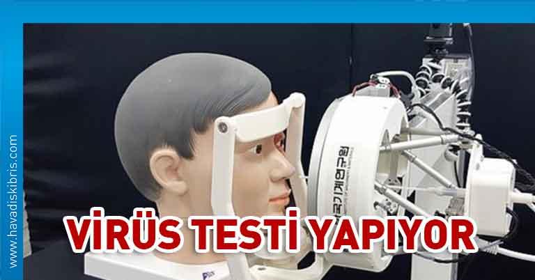 Test robotu
